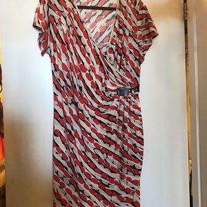 Mille Gabriella Dresses - Patterned Wrap Dress